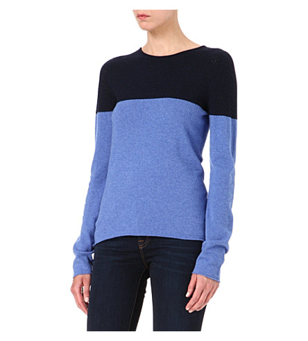 HAWICK Linden jumper (Pacific blue/ navy