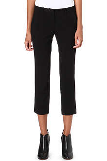 ALASDAIR Cropped wool trousers