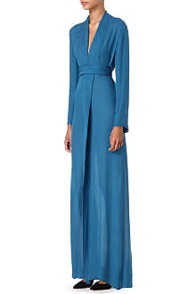 ALASDAIR V-neck maxi dress