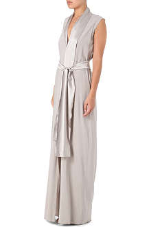 ALASDAIR Centre-split maxi dress