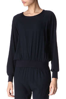 ALASDAIR Silk sweatshirt