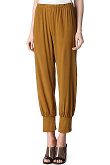 ALASDAIR Stretch-silk trousers