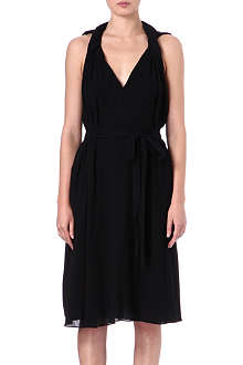 ALASDAIR V-neck dress