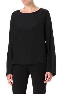 ALASDAIR Silk lantern top