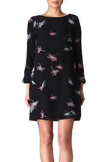 HOLMES & YANG Silk floral dress