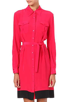 HOLMES & YANG Silk shirt dress