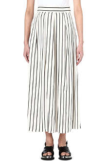 INNAMORATO Striped maxi skirt