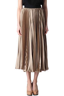 INNAMORATO Pleated maxi skirt