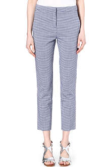 INNAMORATO Cotton-blend trousers
