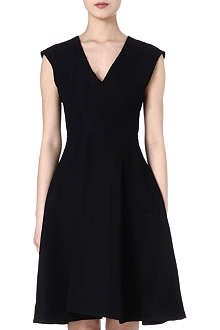INNAMORATO Flared v-neck dress