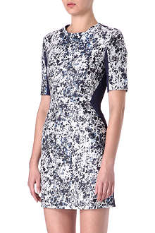 RICHARD NICOLL Floral panelled dress