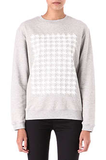 RICHARD NICOLL Houndstooth sweatshirt