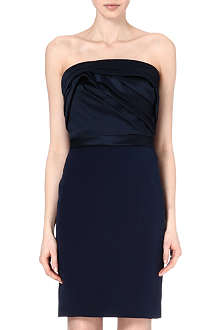 NOTTE BY MARCHESA Strapless silk dress