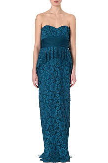 NOTTE BY MARCHESA Lace sweetheart dress