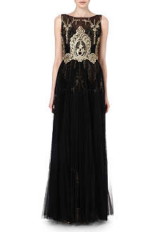 NOTTE BY MARCHESA Embroidered gown
