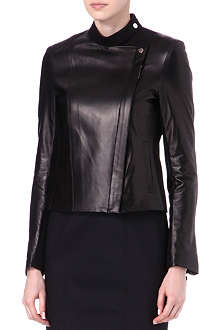 THE ROW Brilly leather jacket