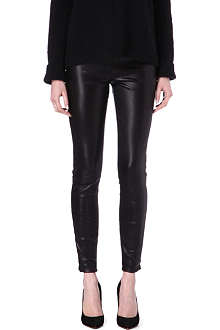THE ROW Notterly leather trousers