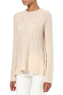 THE ROW Bea cashmere-blend jumper