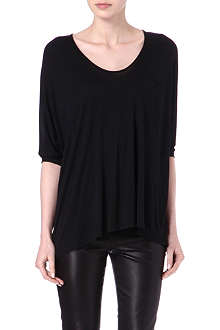 THE ROW Camarabo batwing-sleeved top