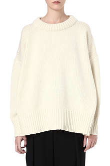 THE ROW Ophelia oversized knitted jumper
