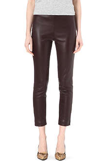 THE ROW Ellerton leather trousers
