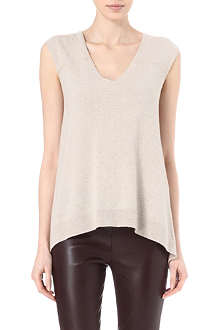THE ROW Quim cashmere top