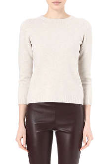 THE ROW Tisa merino wool and cashmere jumper