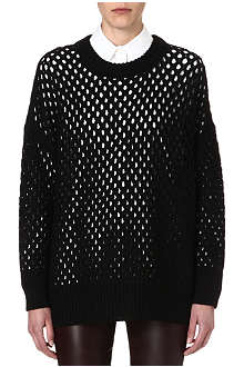 THE ROW Melita long see-through jumper