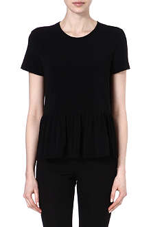 THE ROW Sylus peplum t-shirt