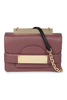 NO. 21 Small leather chain bag