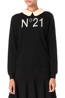 NO. 21 No.21 knitted jumper