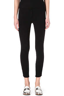 NO. 21 Skinny crepe trousers