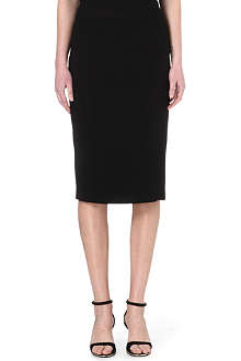 NO. 21 Crepe pencil skirt