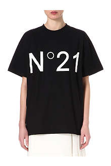 NO. 21 No. 21 logo t-shirt