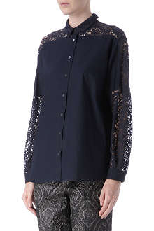 NO. 21 Lace detail shirt