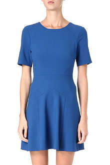 TIBI Flared crepe dress