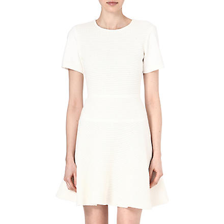TIBI Crochet-knit dress (Ivory