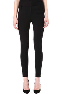 TIBI Skinny stretch-crepe trousers