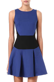 TIBI Colour-blocked dress