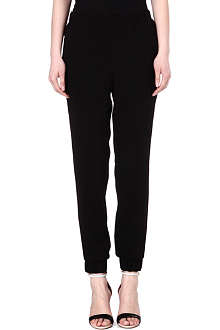 TIBI Bibelot crepe jogging bottoms