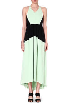 TIBI Colour block maxi dress