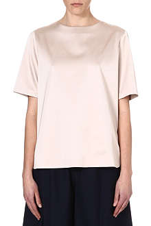 ADAM LIPPES Oversized silk top