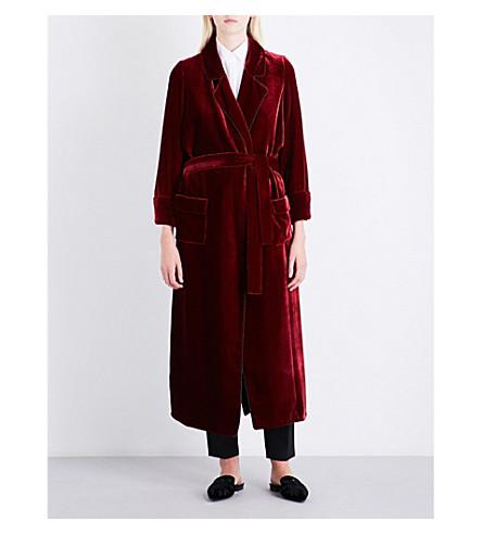 RACIL Windsor velvet coat (Ruby+velvet
