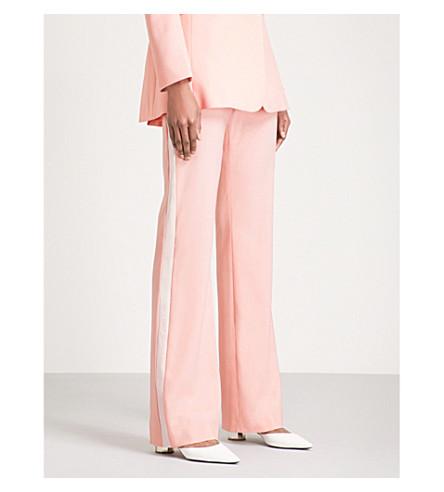 ALTUZARRA Milio flared stretch-wool trousers (Primrose
