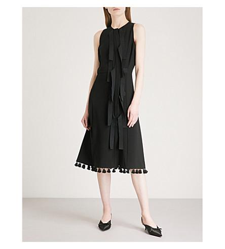 ALTUZARRA Blanche crepe dress (Black