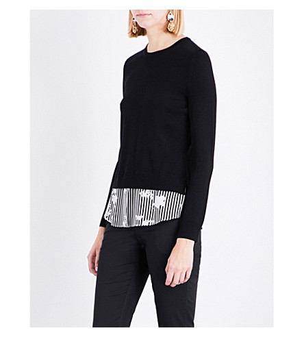 ALTUZARRA Elliot merino wool jumper (Black