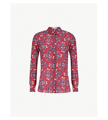 ALTUZARRA Chika paisley-print silk shirt (Dahlia