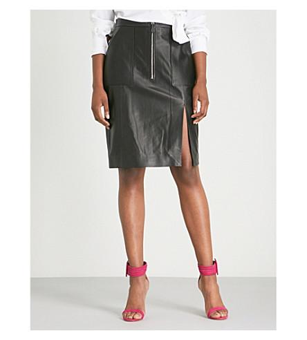 ALTUZARRA 波德拉皮铅笔裙 (黑色