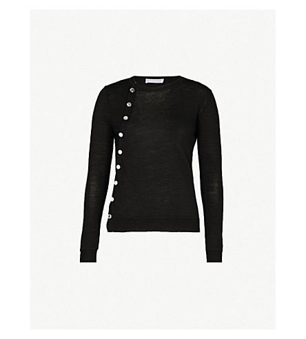 ALTUZARRA Buttoned wool jumper (Black