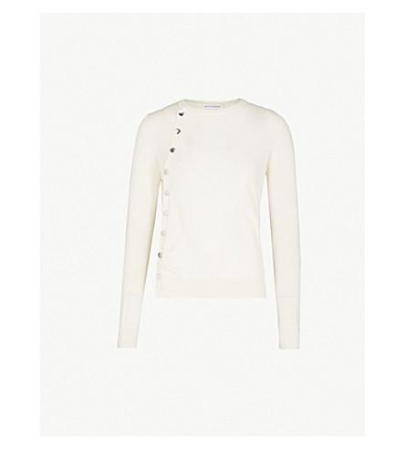 ALTUZARRA Buttoned wool jumper (Ivory